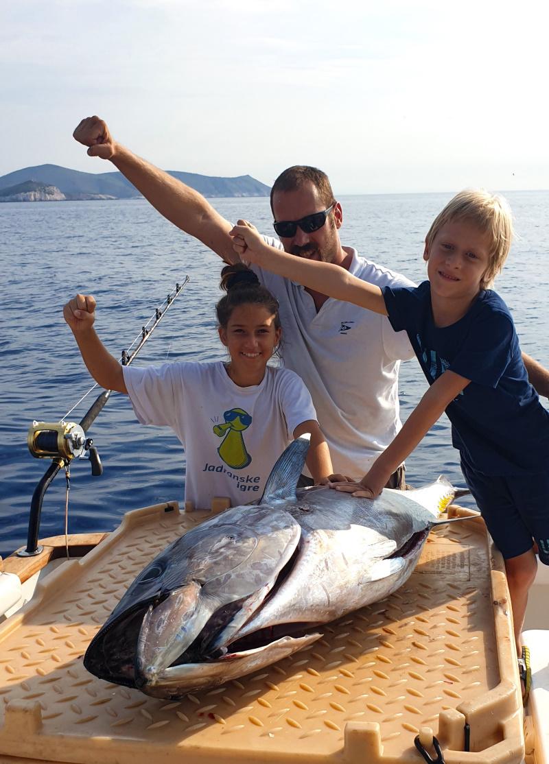 enjoying bota fishing